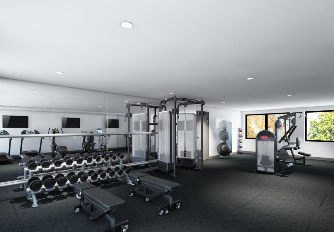 Fitness Center at The Brooklyn Grand in Williamsburg