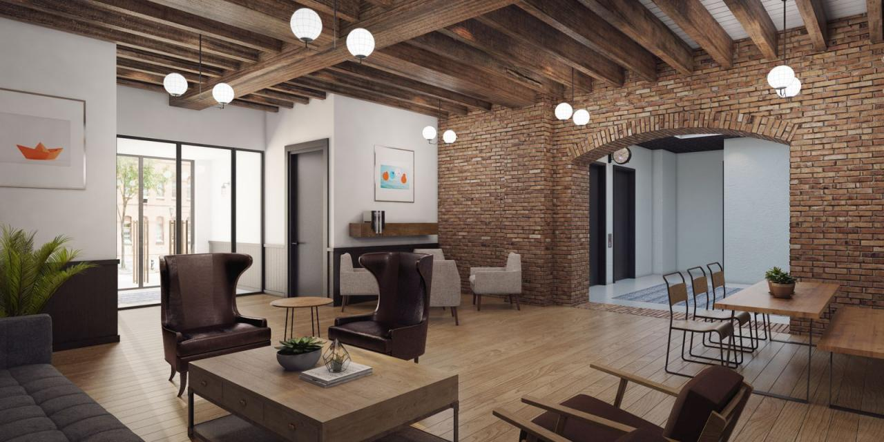 Rentals at 774 Grand Street in NYC - Lounge
