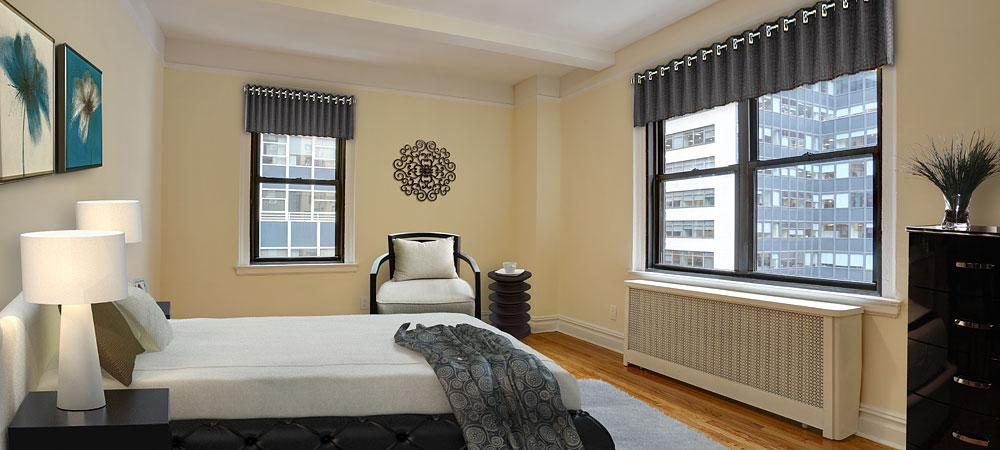160 East 48th Street Bedroom - Luxury Condos in NYC