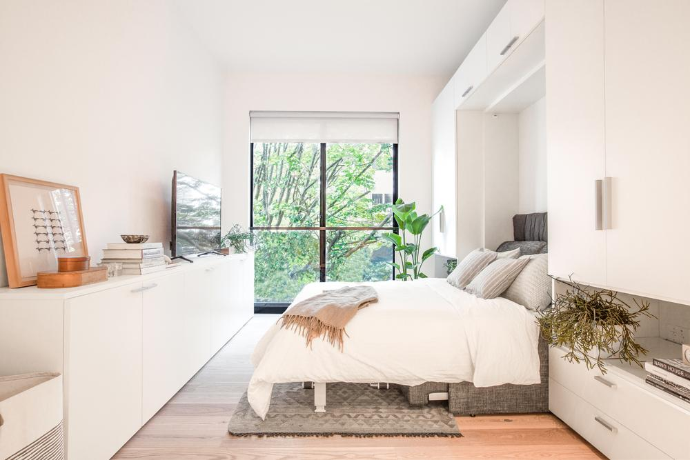 Condos for sale at Carmel Place in NYC - Living area