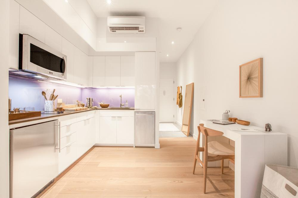 Open Kitchen at Carmel Place in Kips Bay - Condos for sale