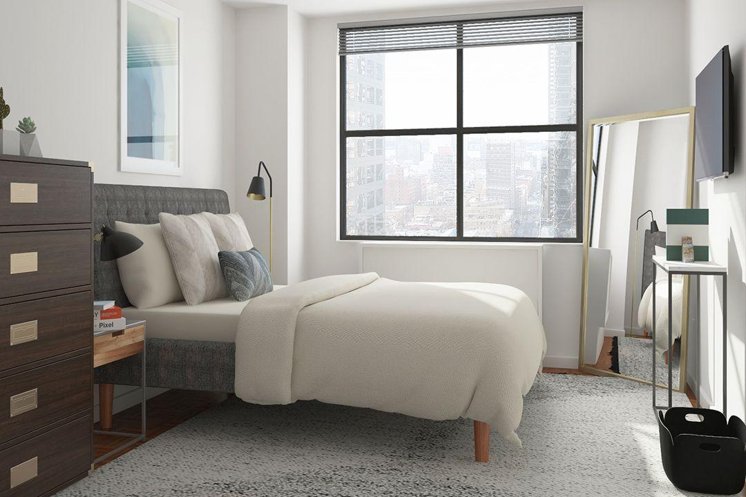 Bedroom at Carnegie Mews in NYC - Apartments for rent