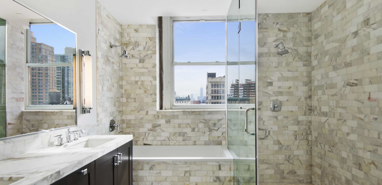 The Centurian 1182 Broadway Luxury Apartments for Sale NYC Bathroom