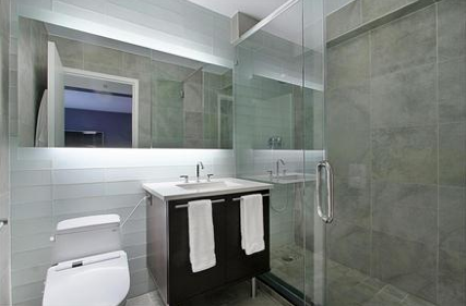 Chatham 44 Bathroom - Clinton Luxury Apartments for Rent, NYC