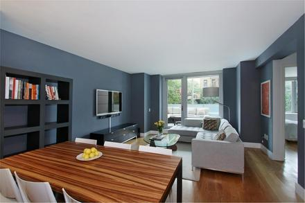 Chatham 44 Livingroom - Clinton Luxury Apartments for Rent, NYC