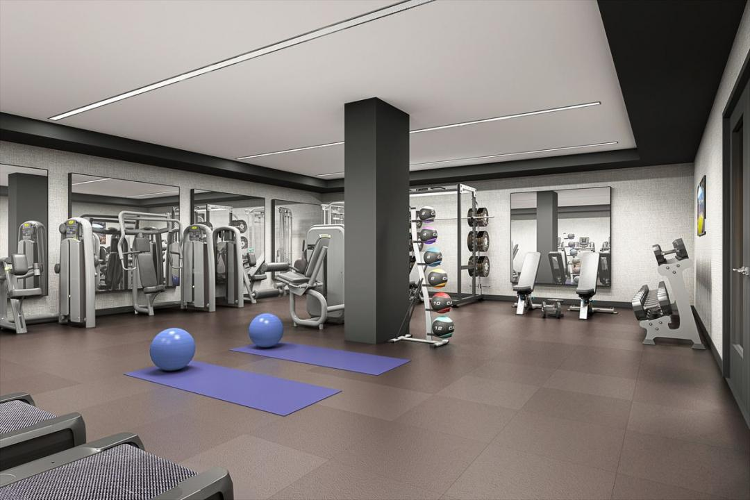 Fitness Center at Chelsea29 in Manhattan - Apartments for rent