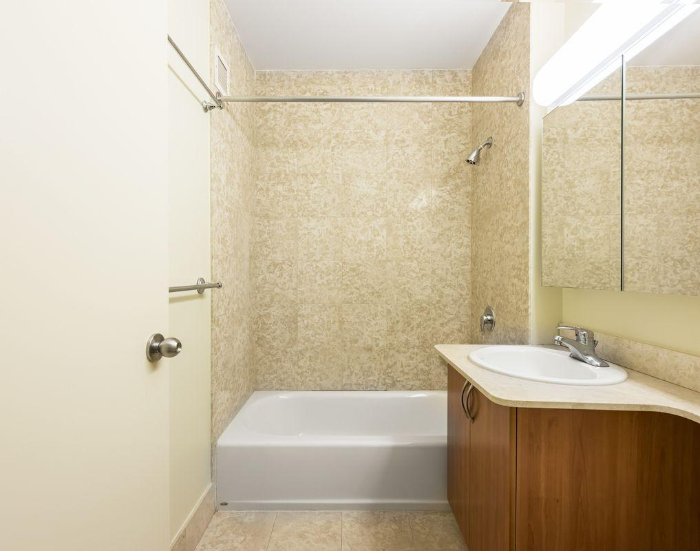 Bathroom at 100 West 26th Street in Chelsea - Apartments for rent