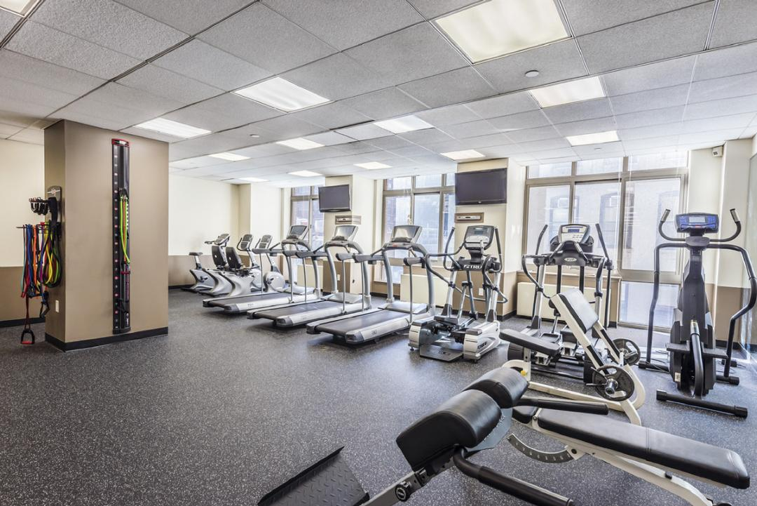 Fitness Center at Chelsea Tower in Manhattan - Apartments for rent