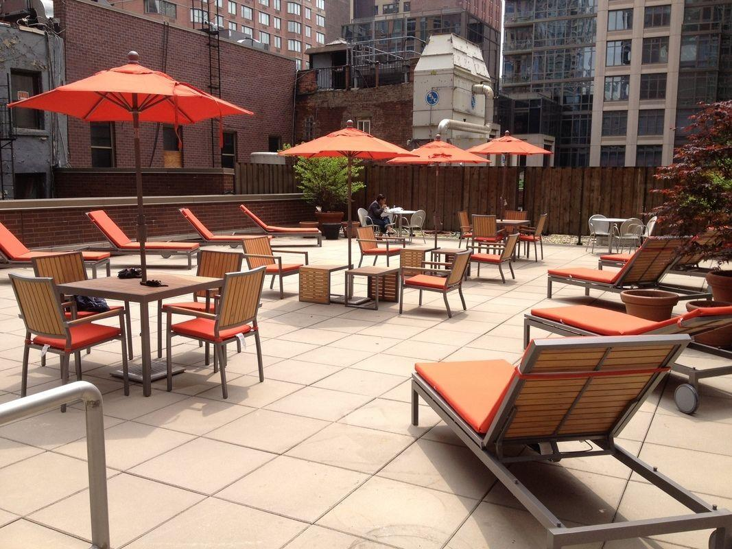 Rentals at 100 West 26th Street in Chelsea - Rooftop Terrace