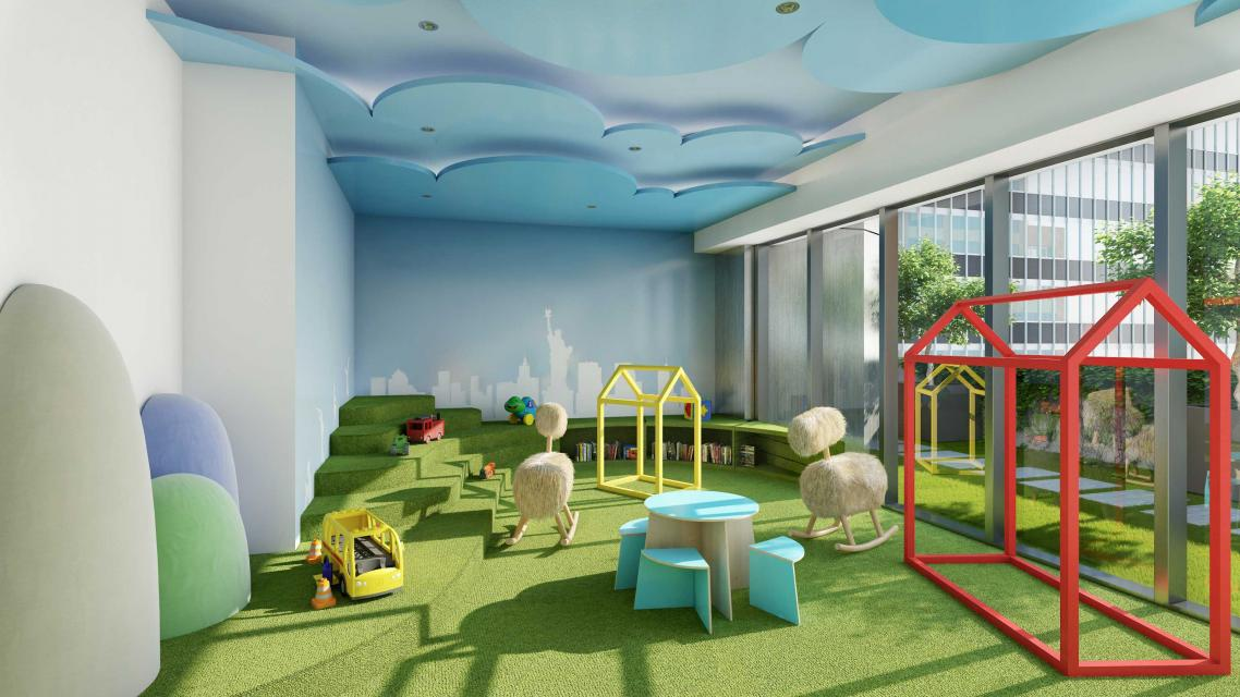 Children's Playroom at 135 West 52nd Street
