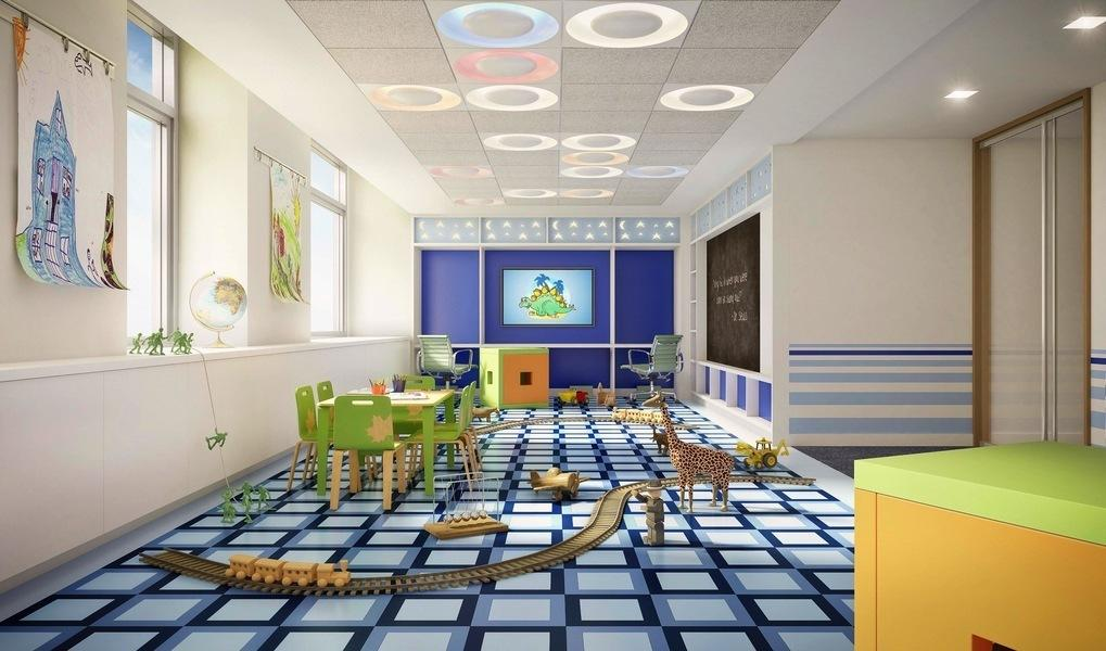 Childrens Playroom in The Larstrand