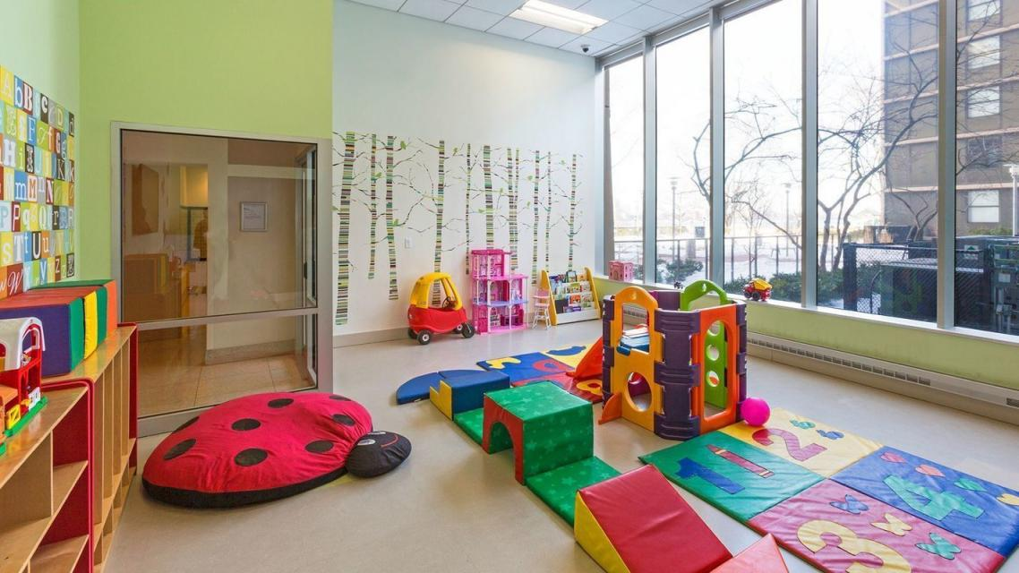 Children's Playroom at 365 South End Avenue