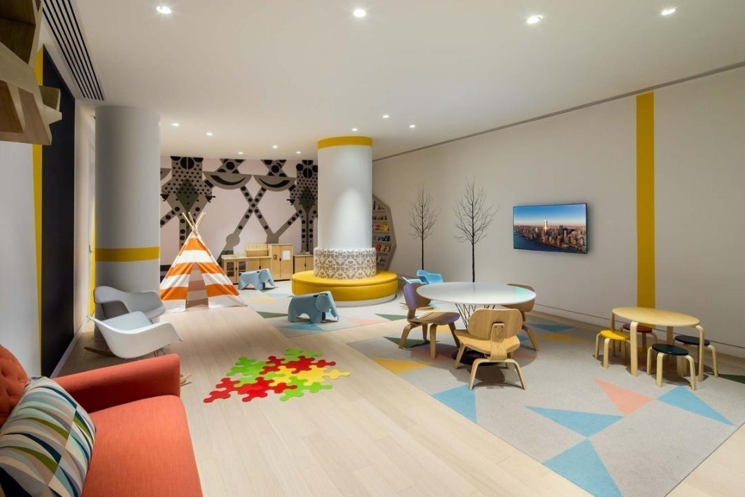 Children's Playroom at 400 Park Avenue South