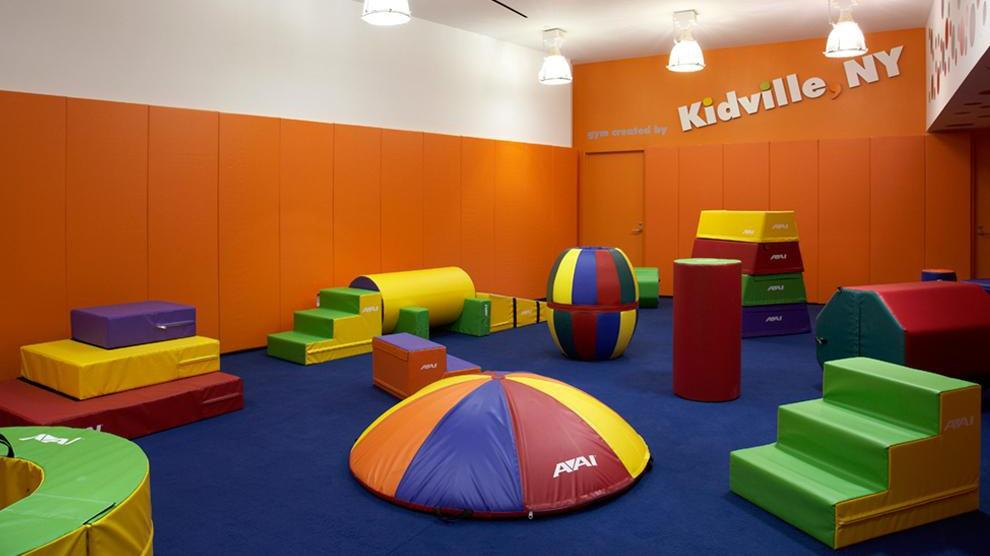 Children's Playroom at The Rushmore - 80 Riverside Boulevard