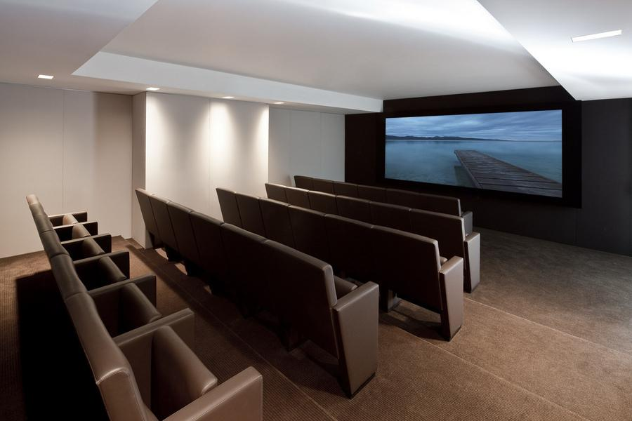 Movie Room at The Laurel - 400 East 67th Street
