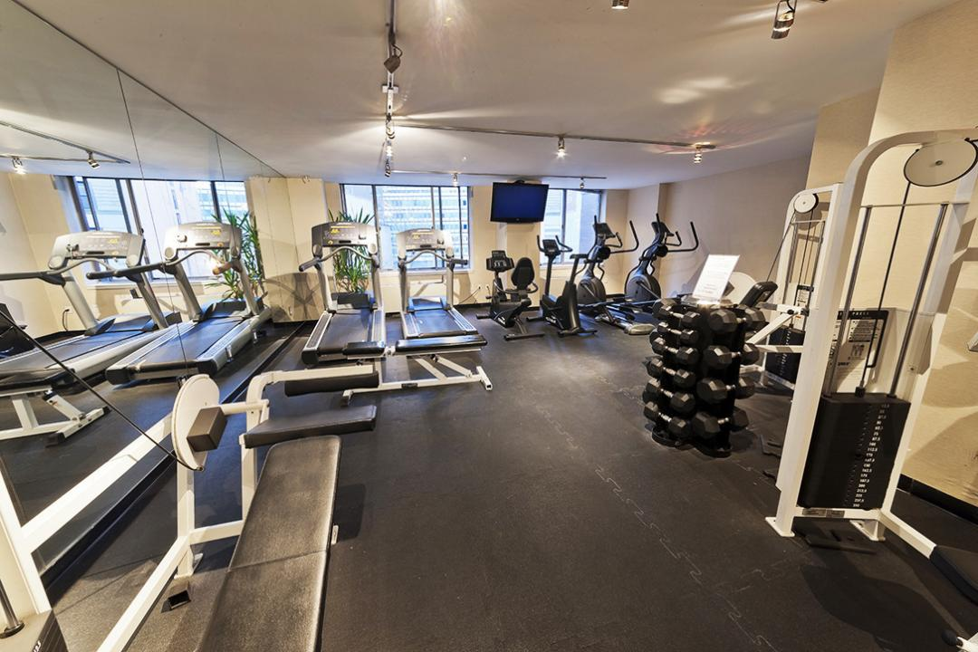 Fitness Center at 15 Cliff Street in Financial District