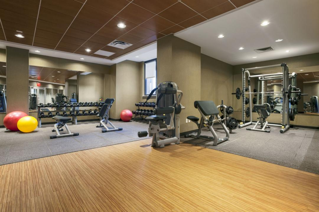 Apartments for rent at The Corinthian - Fitness Center