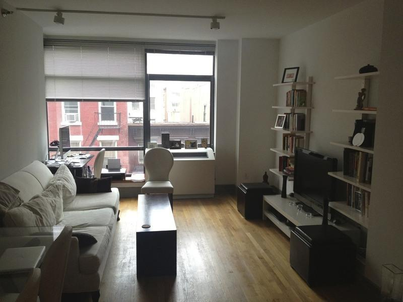 Brooklyn Condominium Living Area- 1 Bedroom
