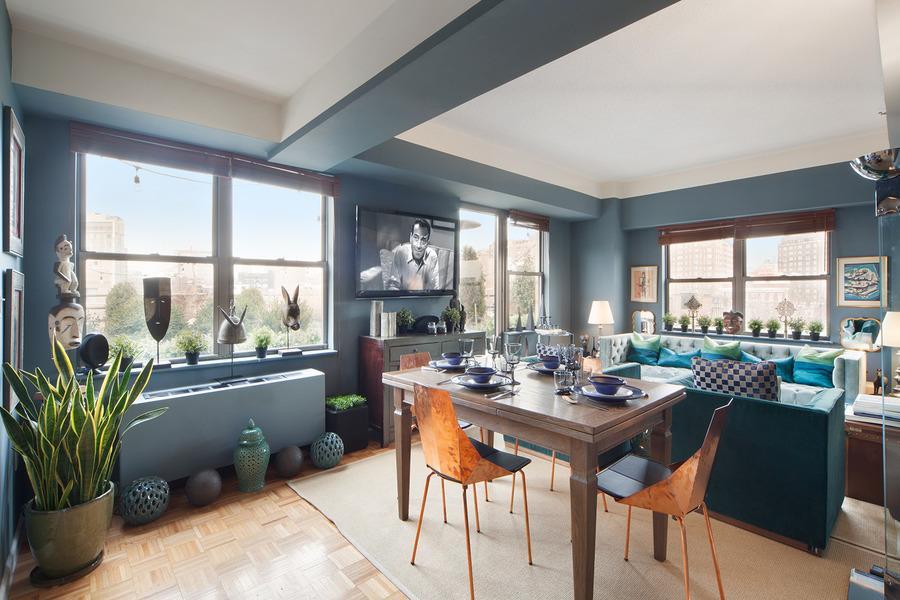 756 Washington Street  Dining Room- NYC Rental Apartments