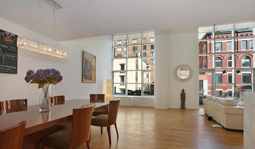 Dining Area and Living Room - Three Ten Condo Rentals