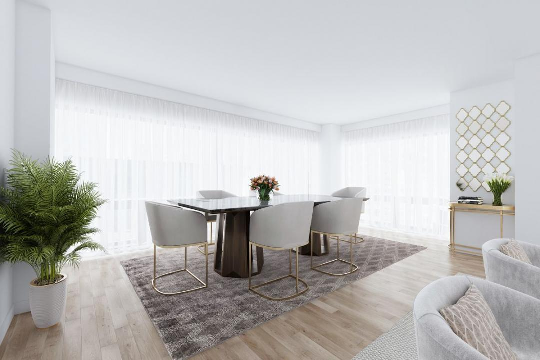 Dining Room at Trump Tower - 721 Fifth Avenue