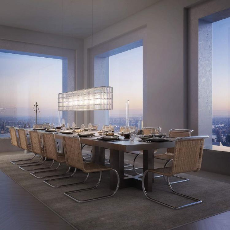 Dining Room- 432 Park Avenue