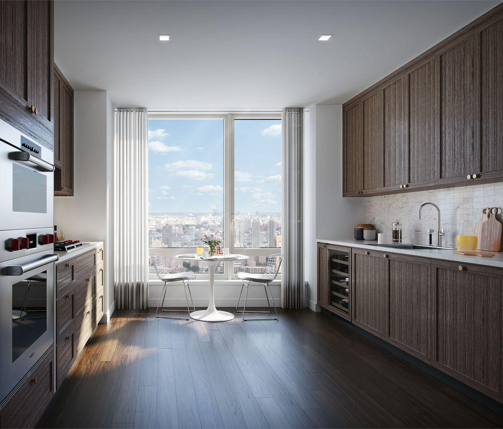Open Kitchen at The Easton in Upper East Side  - Apartments for rent