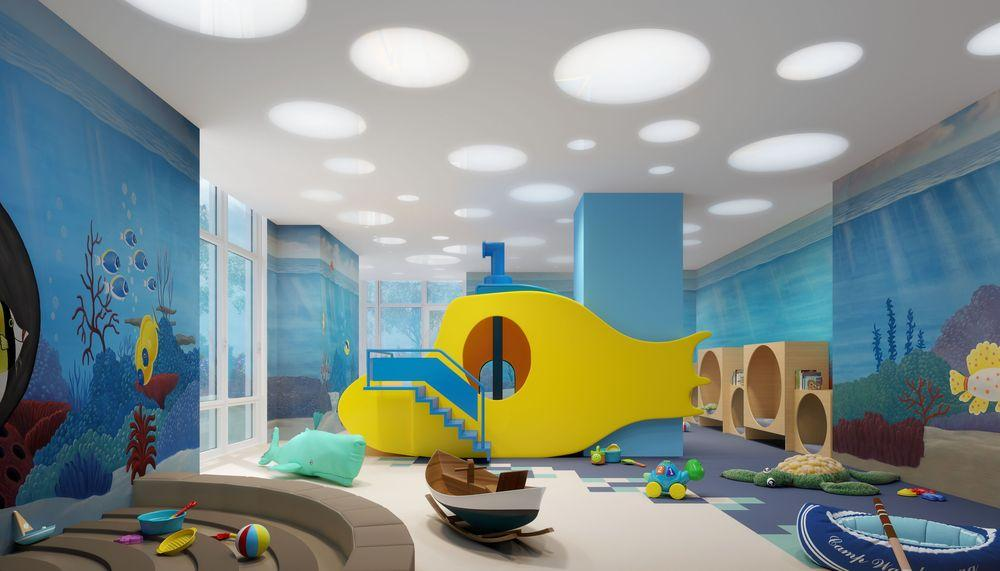 Children's Playroom at The Easton in NYC - Condos for rent