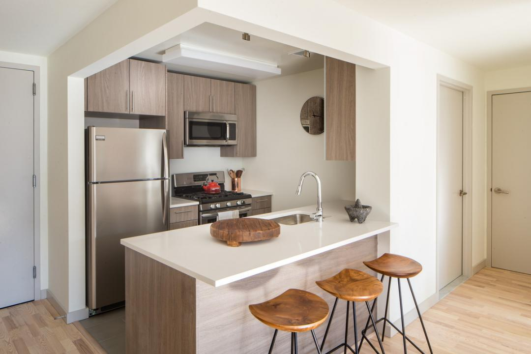 Kitchen at Eleven 33 - 1133 Manhattan Ave apartments for rent