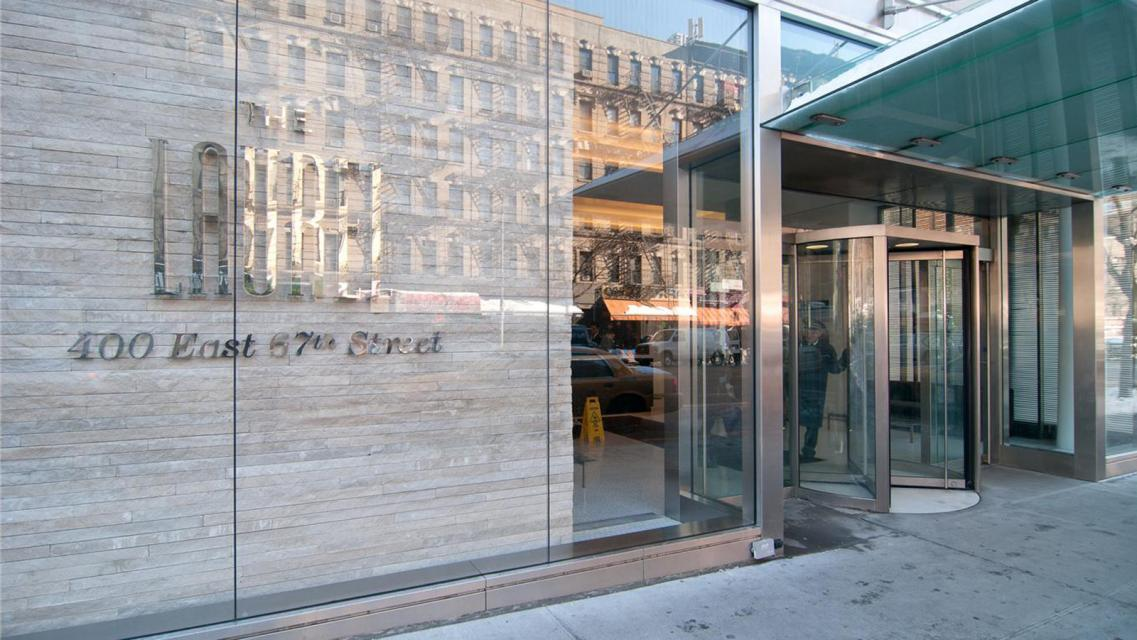 Entrance at The Laurel - 400 East 67th Street