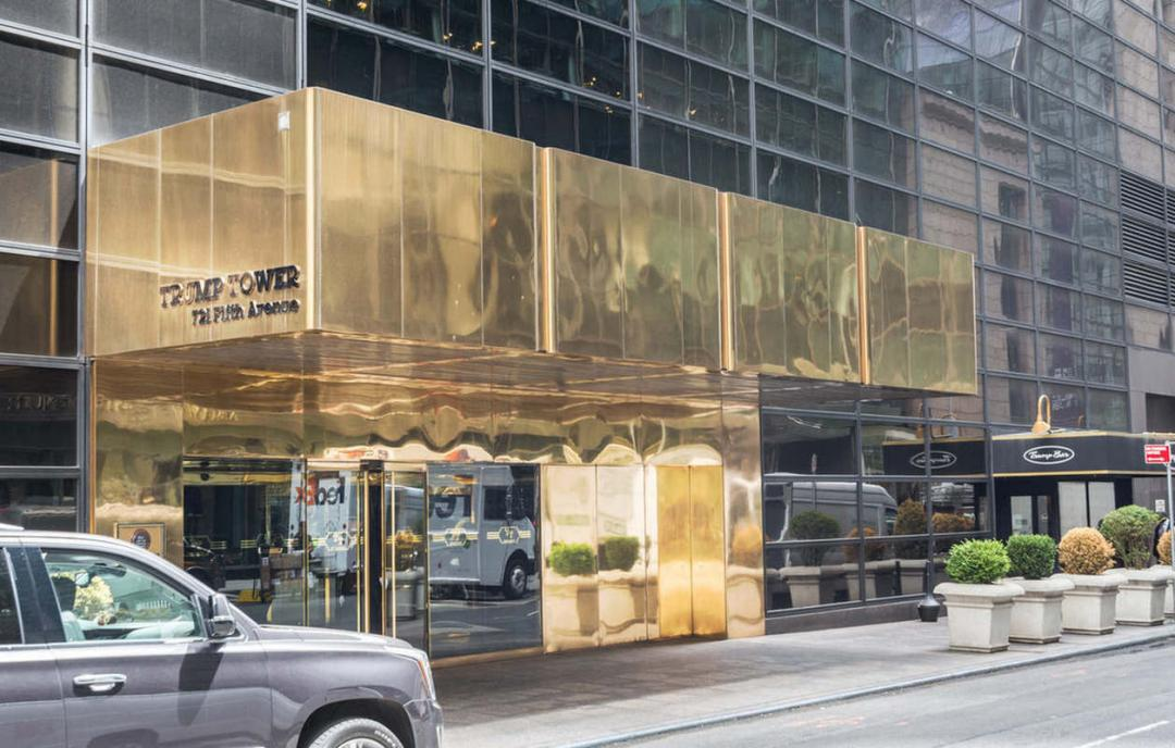 Entrance at Trump Tower - 721 Fifth Avenue