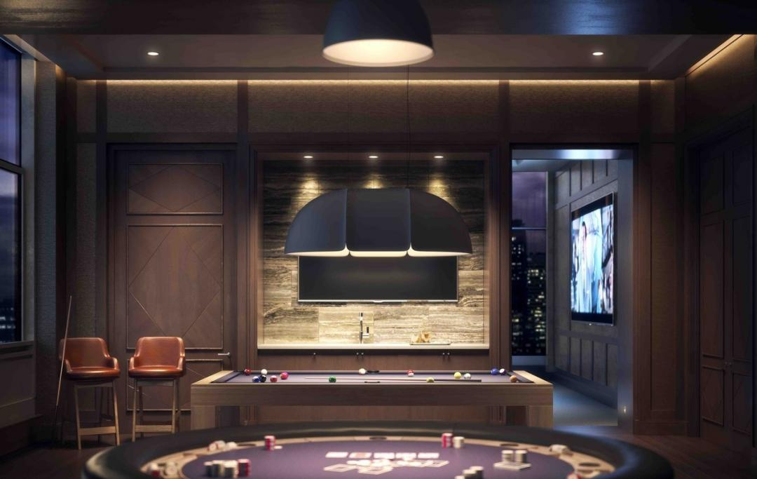 Billiard Room at 100 West 31st Street in NYC