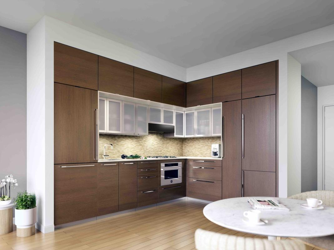 Open Kitchen at EOS in NYC - Condos for rent