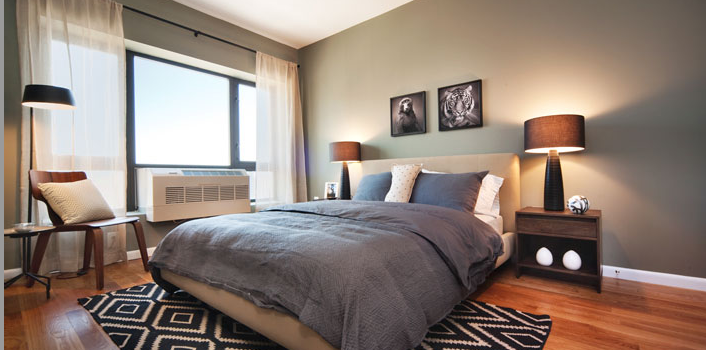 Exo Astoria Apartment Bedroom, Rentals in Astoria Queens at 26-38, 21st Street