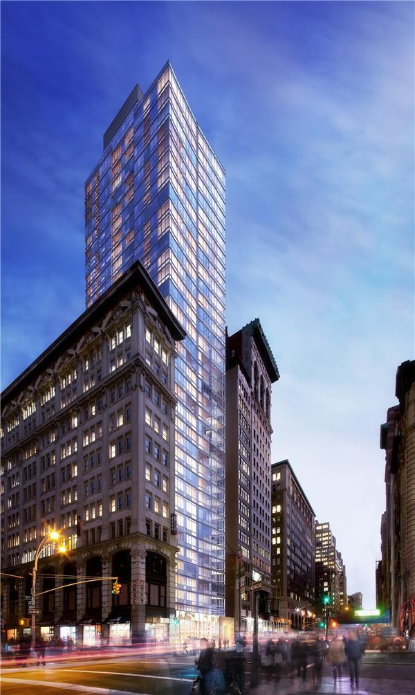 Exterior of The Dylan at 309 Fifth Avenue