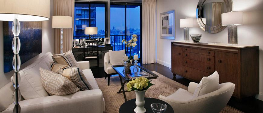 Family Room in Upper East Side Apartment Building