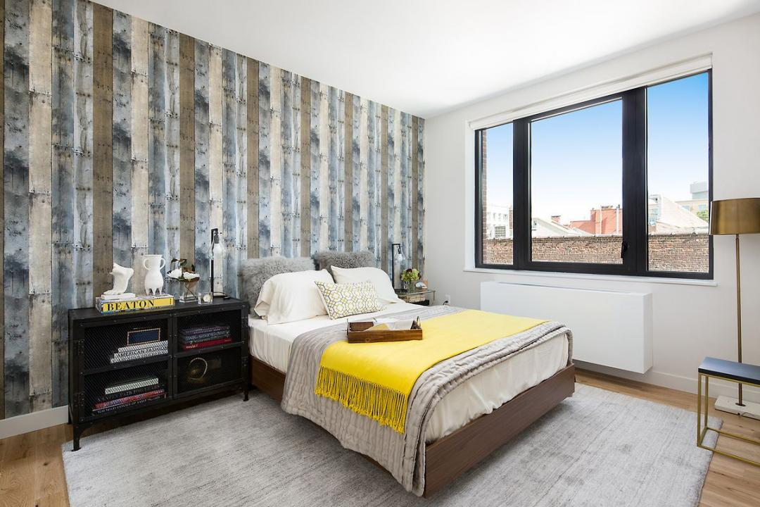 Bedroom at Fifth & Wythe