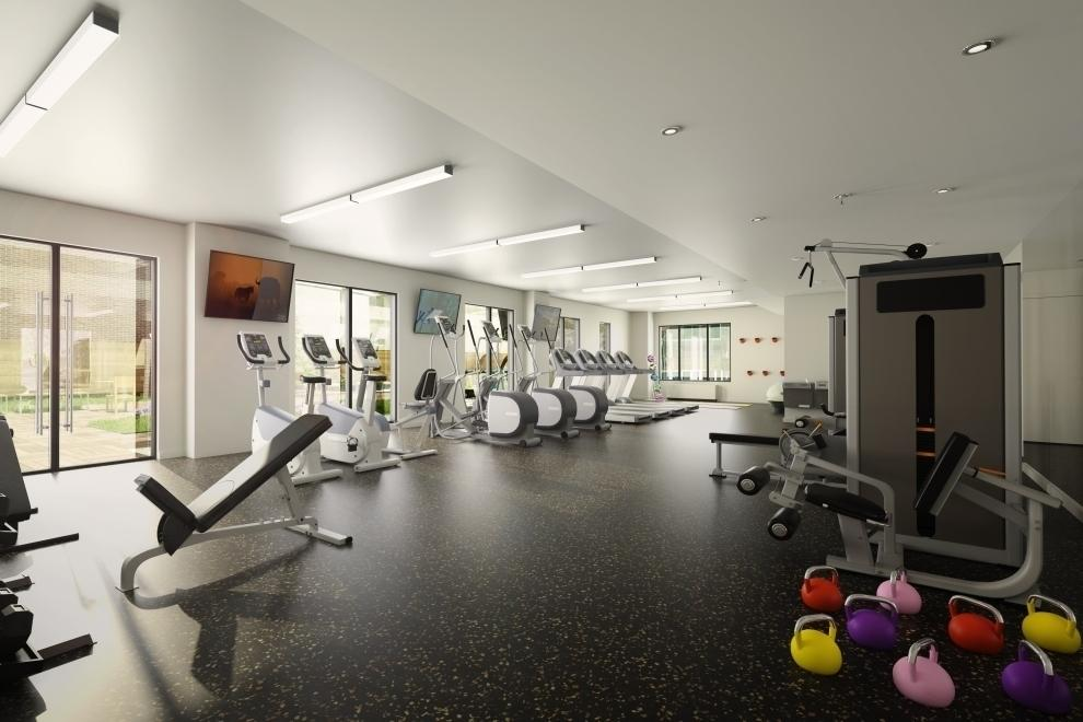 The Building's Gym at Fifth & Wythe