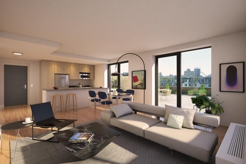 Living Room at Fifth & Wythe