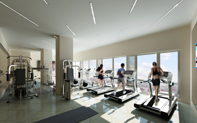66 Rockwell Place- Fitness Room