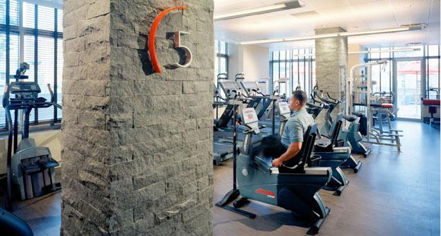 The Biltmore rental building Fitness Center - NYC Flats