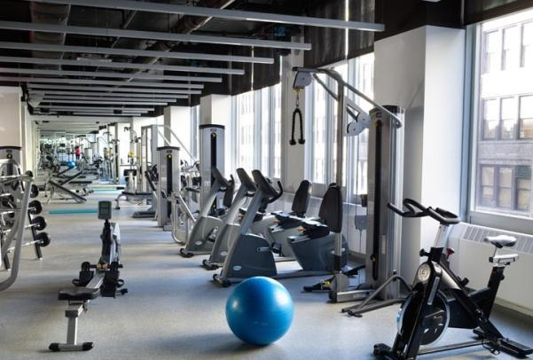Fitness Center at Brooklyner - Luxury Condominiums for Rent