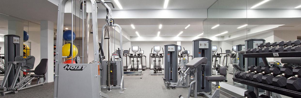Fitness Center in Bloom 62, 542 East 5th Street