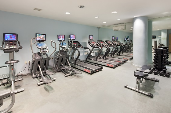 Fitness Center at Flatiron 18 Apartment Building-30West 18th Street NYC