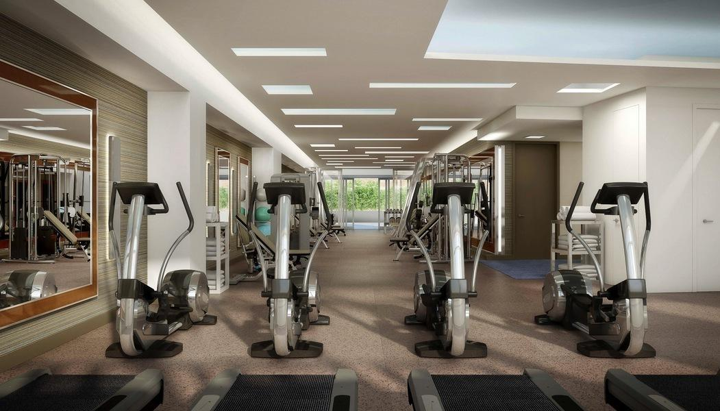Fitness Center of The Larstrand- NYC Apartments for Rent