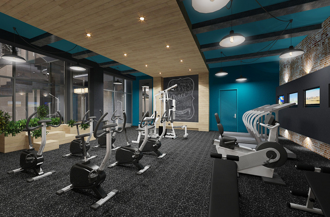 Fitness Facility- 146 South 4th Street-  condominium for rent in Williamsburg