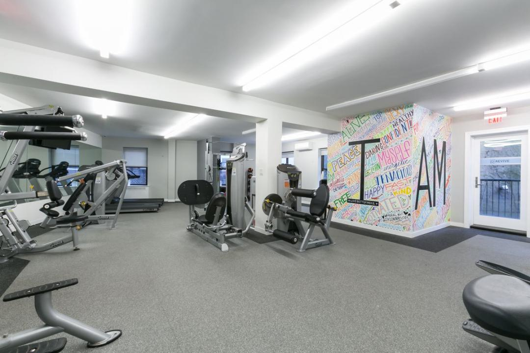 Fitness Room at 10 Downing Street