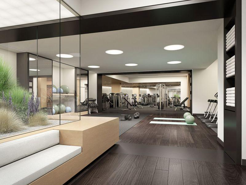 Fitness Room at 111 Murray Street