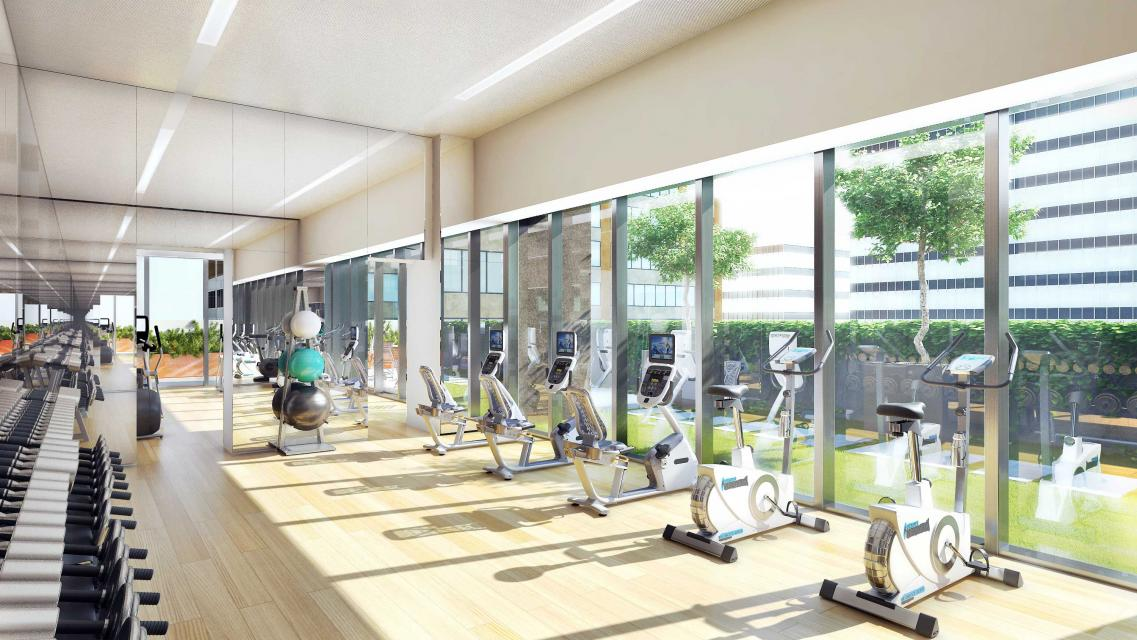 Fitness Room at 135 West 52nd Street