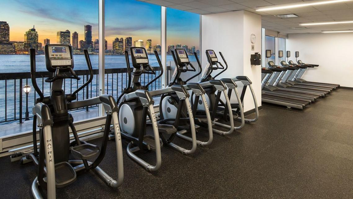 Fitness Room at 365 South End Avenue